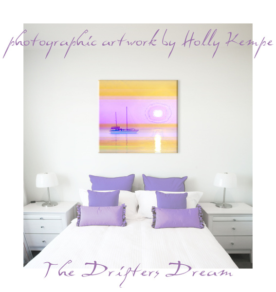 The Drifters Dream - Artwork Displayed in a Room