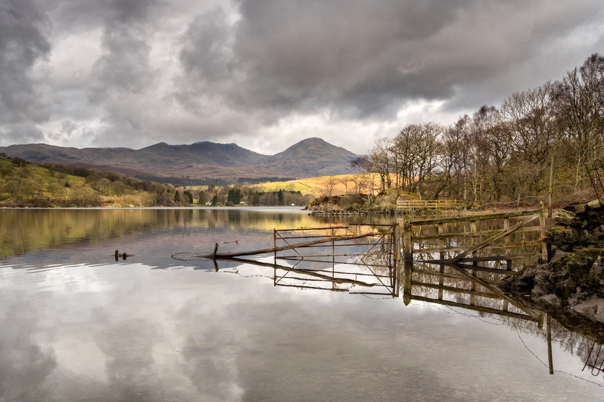 Coniston from Low Peel - The 5km Project