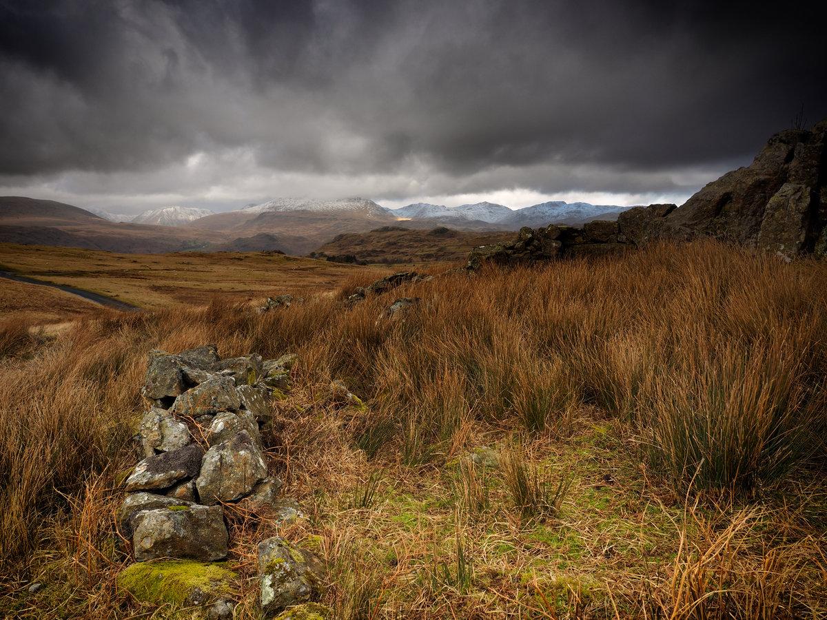 Birker Fell - Views of Cumbria