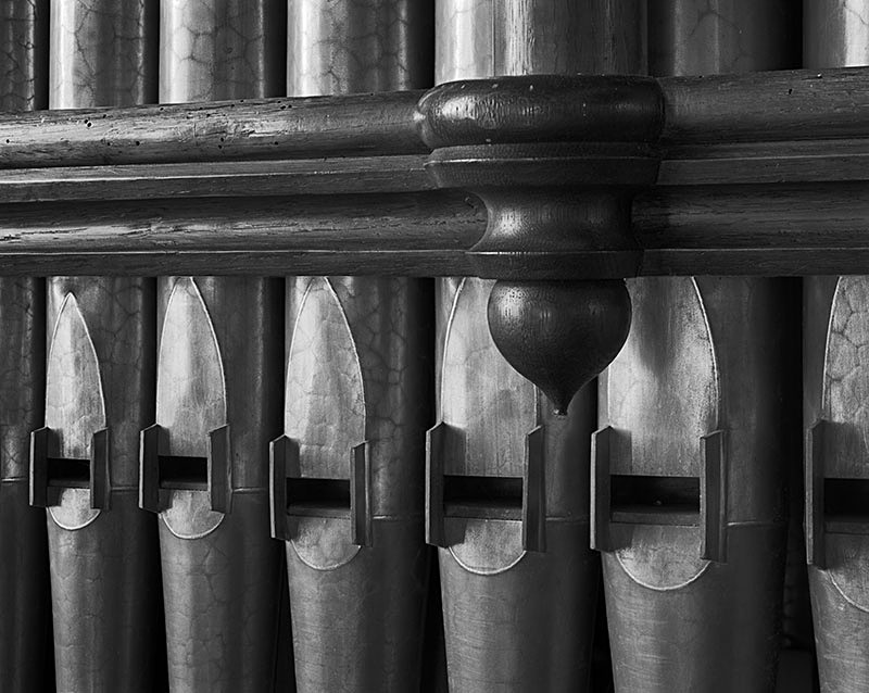 2231 - Tormarton Church Organ Pipes - The Cotswold Way - 2009
