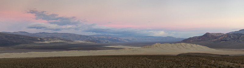 Dawn Over Eureka Dune - Death Valley - Away Skies