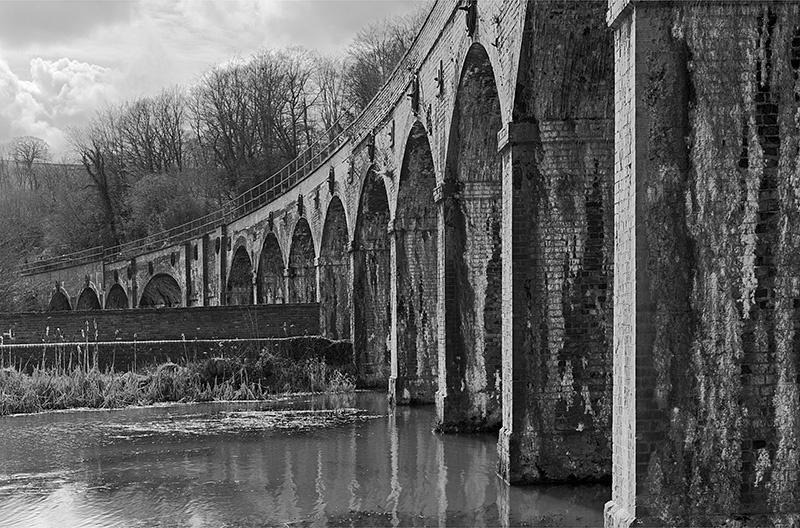 2279 - Ironbridge Railway Viaduct - Images from England
