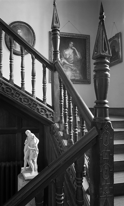 2456  - Chastleton House - Bottom of East Staircase - Chastleton House - National Trust