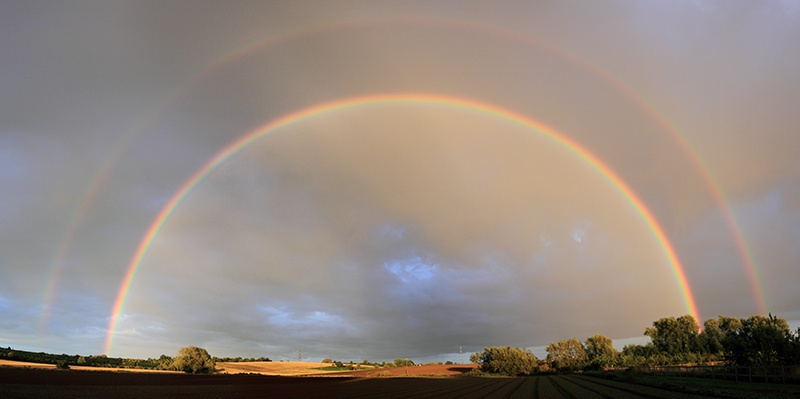 Full Double Rainbow - Home Skies