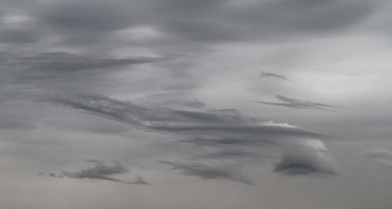 Soft Grey Clouds - Home Skies