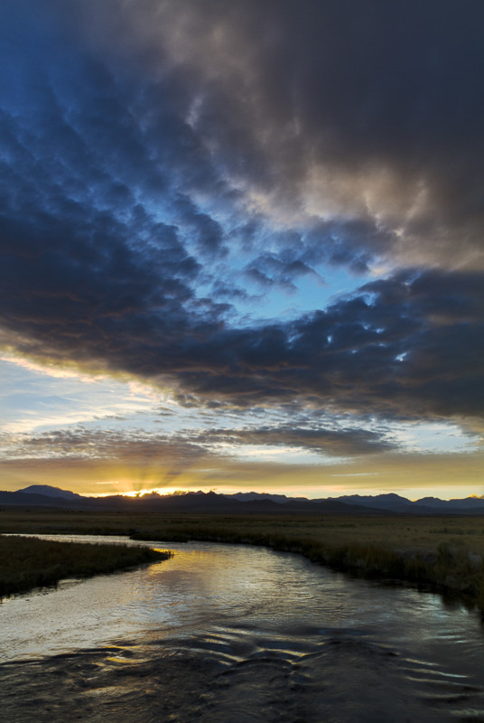 Owens Valley Sunset - 02 - Away Skies