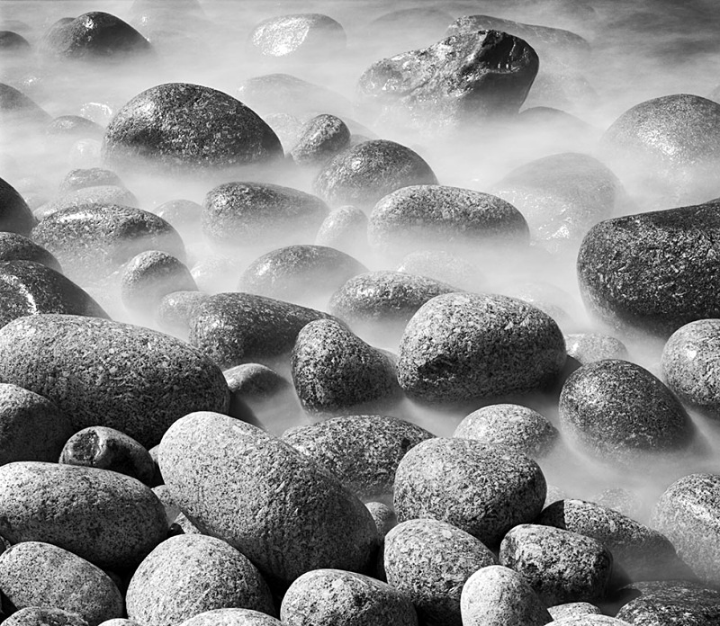 0476 - Seawashed Boulders - Images from England