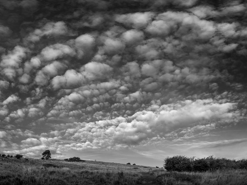Day 41 - Patchy Clouds - On Bredon Hill - 2016