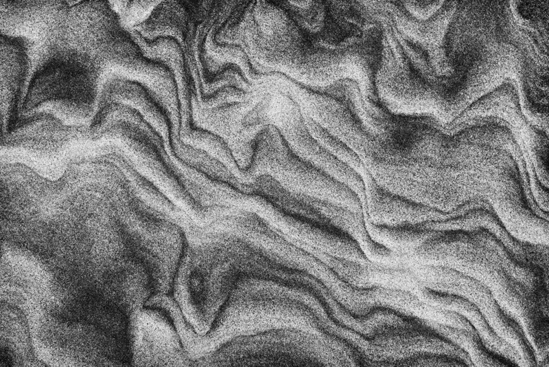 Sand Waves - New Zealand's South Island - 2018