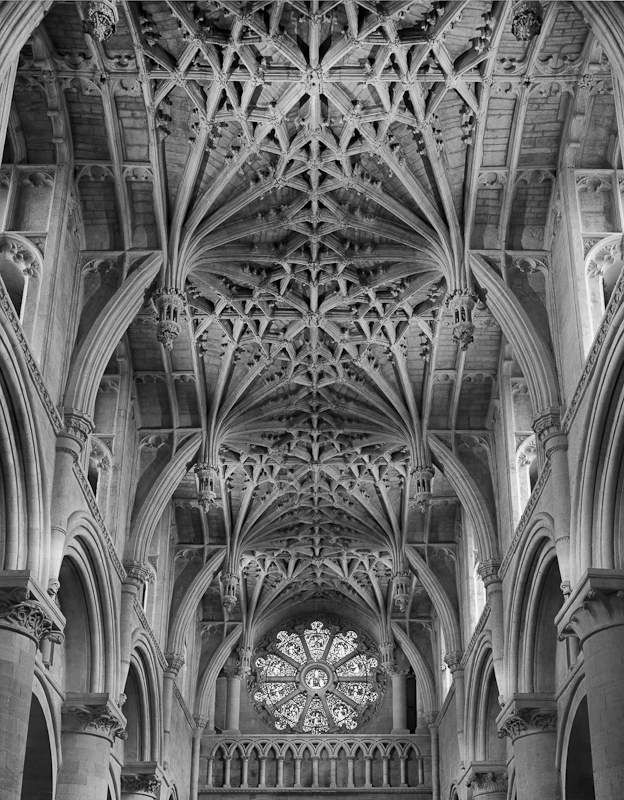2565 - Choir Ceiling - Christ Church Cathedral - Cathedrals