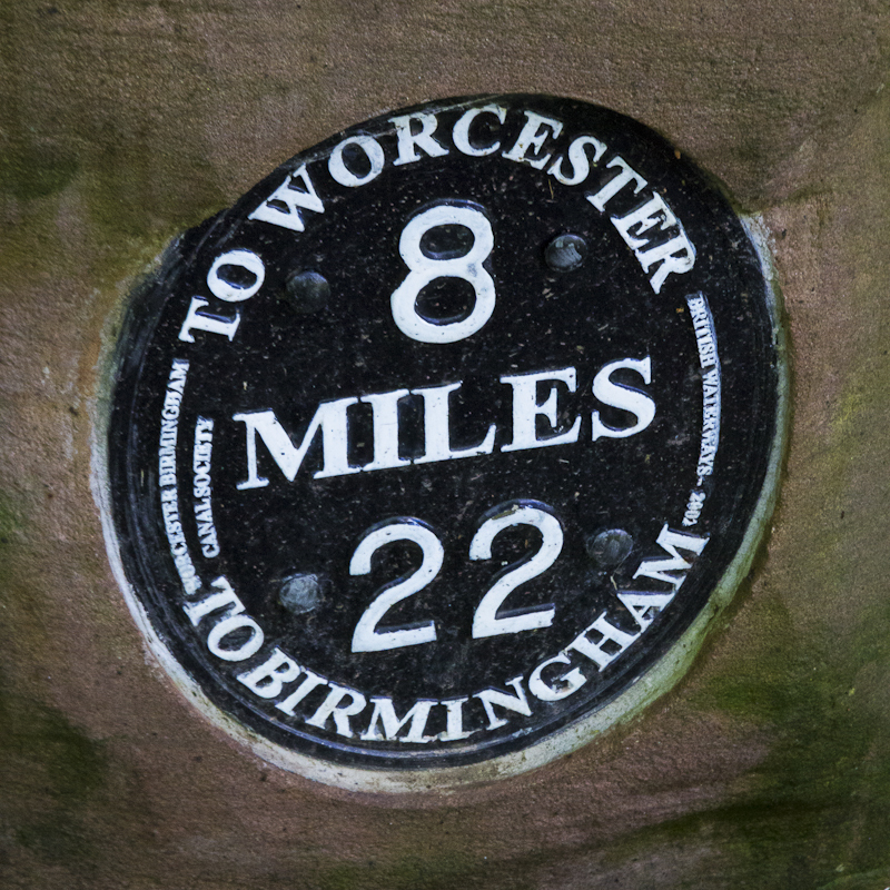 8 Down 22 To Go - Worcester Birmingham Canal