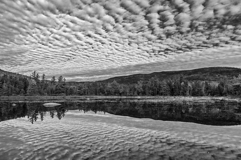 Reflected Mackerel Sky - USA - 2013 - New England