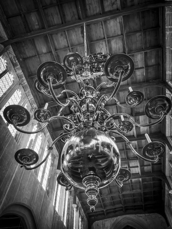 St Peter's Chandelier - The Cotswold Way - 2017/8