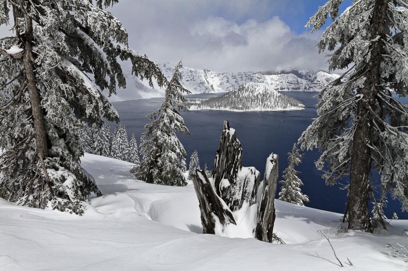 Wizard Island - Crater Lake - Colour - USA - 2014 - California, Oregon, Washington