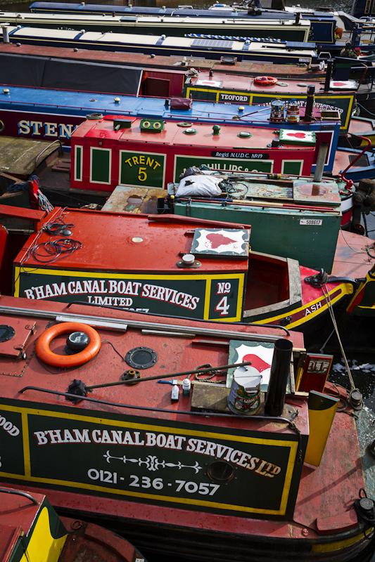 Gas Street Basin - Worcester Birmingham Canal