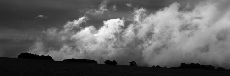 Day 44 - Illuminated Cloud - On Bredon Hill - 2016