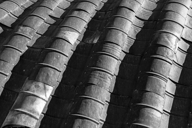 Water Barrel Roof - Namibia - 2014