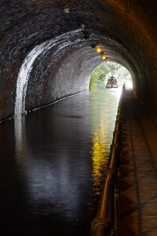 Edgbaston Tunnel - Worcester Birmingham Canal