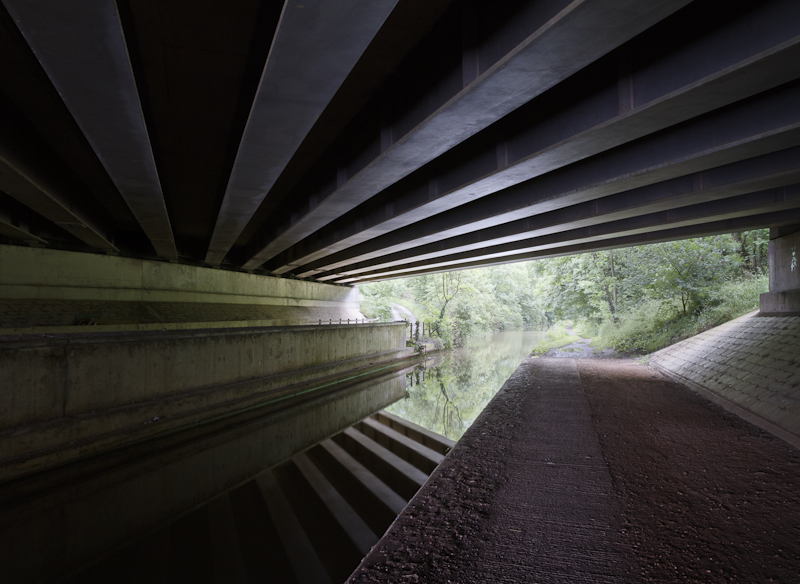 Under the M5 - Worcester Birmingham Canal