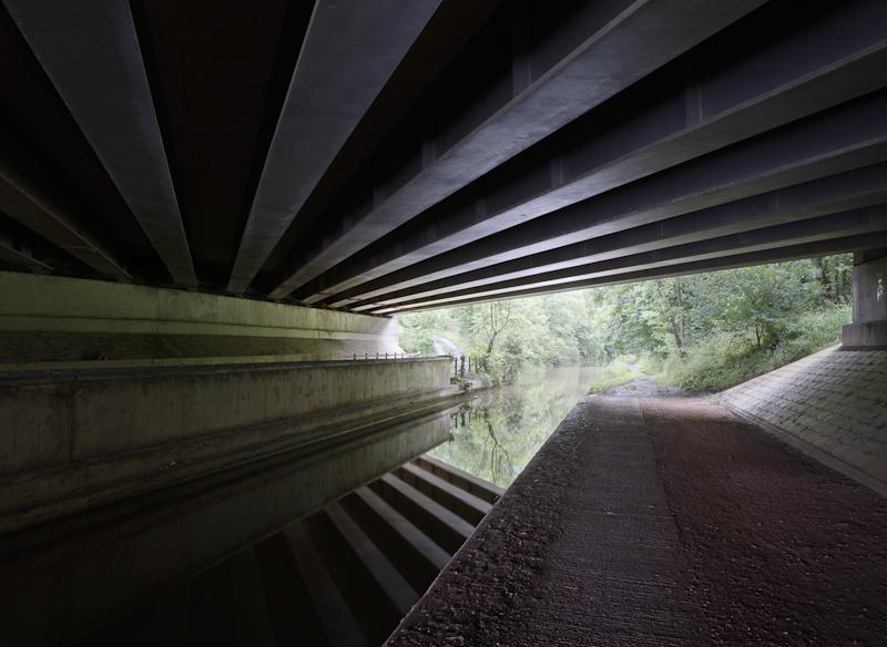 Under the M5 - Worcester Birmingham Canal