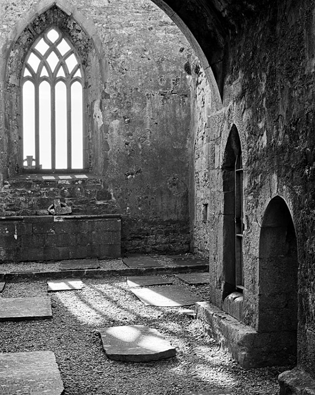 1208 - Burrishole Window 3 - Images from Ireland