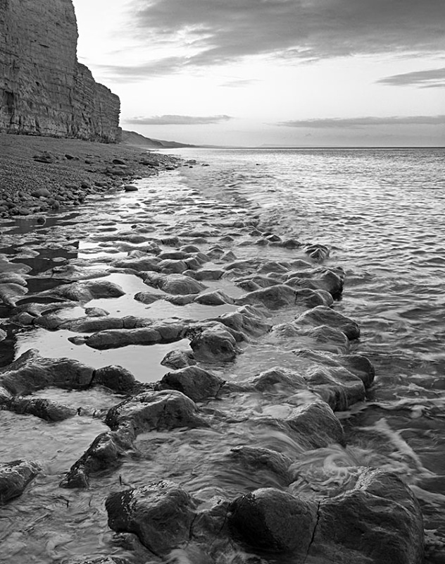 1961 - Burton Bradstock Cliff - Images from England