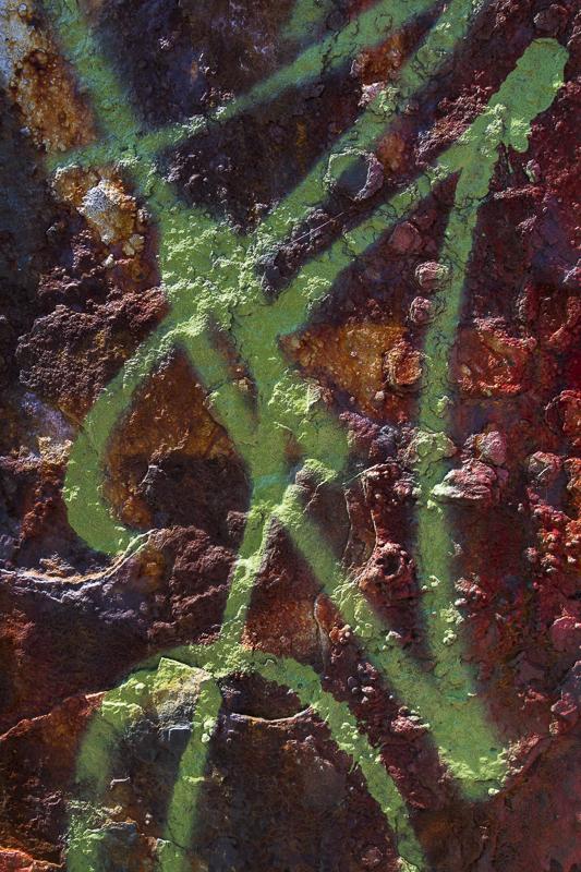 Graffiti on Rust - USA - 2014 - California, Oregon, Washington