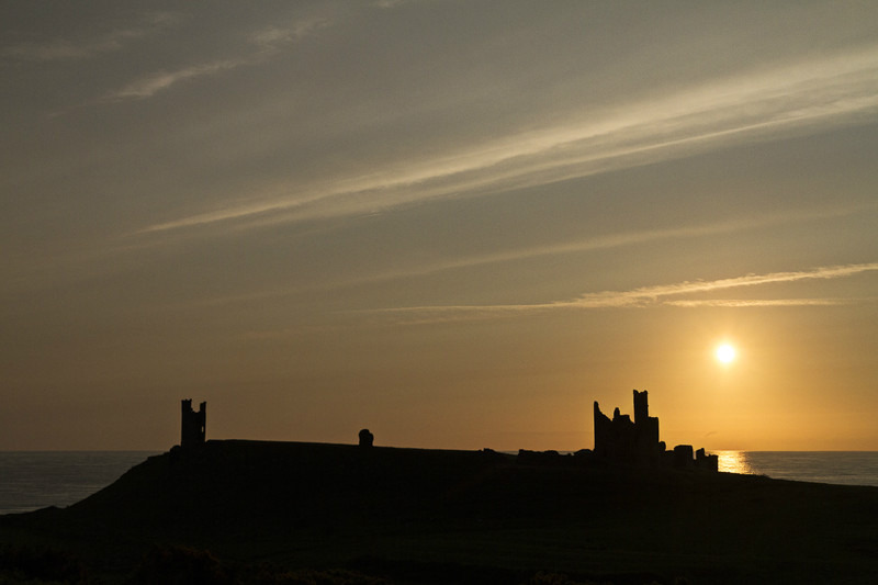 Dunstanburgh Castle - 05:10am - 27 June 2013 - Images from England