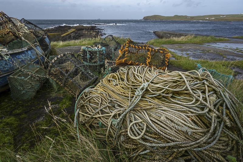 Rope Pile - Isle of Skye - 2017