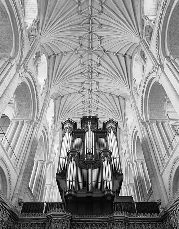 1916 - Norwich Cathedral - Organ - Cathedrals