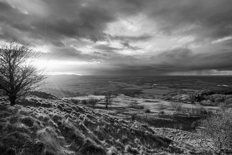 Day 17 - Rain Over The Malverns - On Bredon Hill - 2016