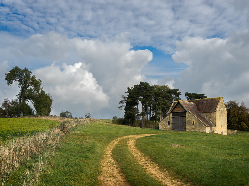 Day 46 - Sundial Barn - On Bredon Hill - 2016