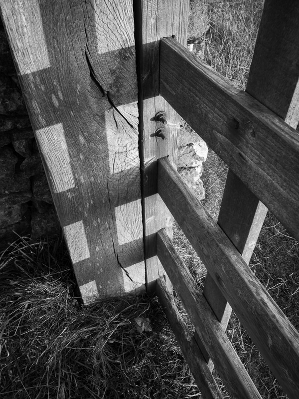 Day 43 - Gate Shadow - On Bredon Hill - 2016