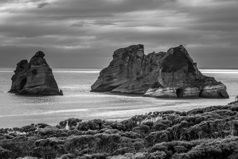 Archway Islands - Wharariki Beah - #2 - New Zealand's South Island - 2018