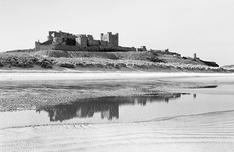 2010 - Bamburgh Castle Reflection - Images from England