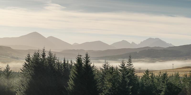 Morning Mist - Cuillin Hills - Skye - Hebrides & Skye - 2015