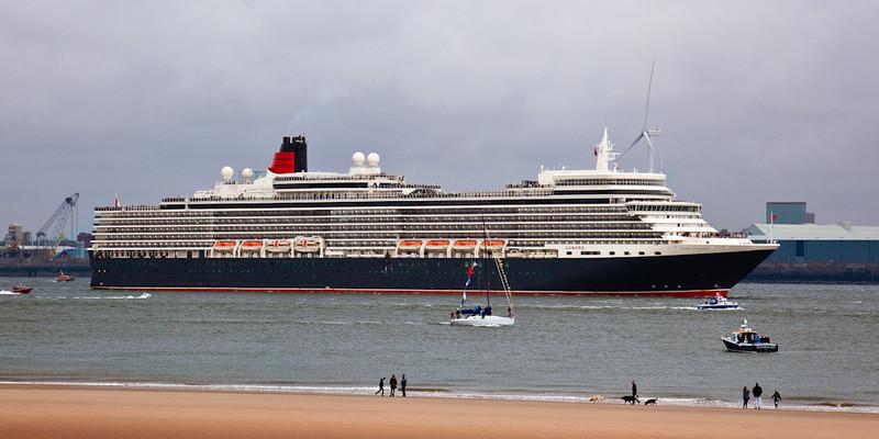 CUNARD QUEEN ELIZABETH - Cunard Queens