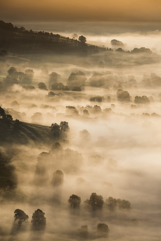 Late Summer sunrise. - Peak District & surrounding area