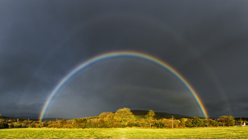 Autumn Rainbow - Peak District & surrounding area