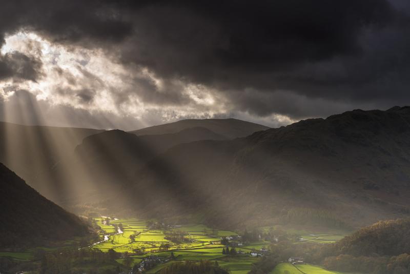 Borrowdale light - Lake District & Cumbria