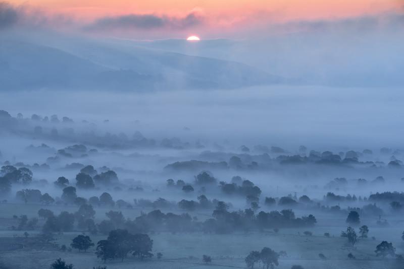Hope Valley sunrise - Peak District & surrounding area
