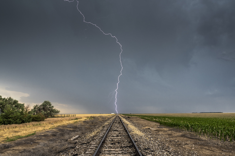 Railroad Strike - Weather photography