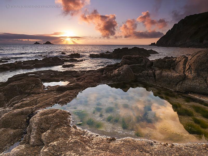 Porth Nanven, Landsend. - Cornwall, Devon & South of England