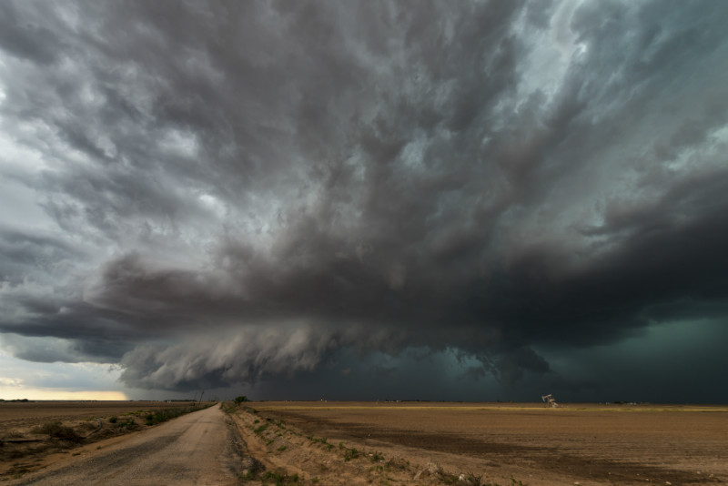 Texas storm - Weather photography