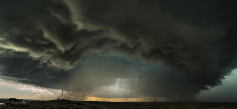 Canadian wall cloud TX - Weather photography