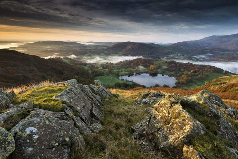 Loughrigg Tarn - Lake District & Cumbria