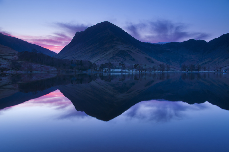 Buttermere dawn. Lake District. - Lake District & Cumbria
