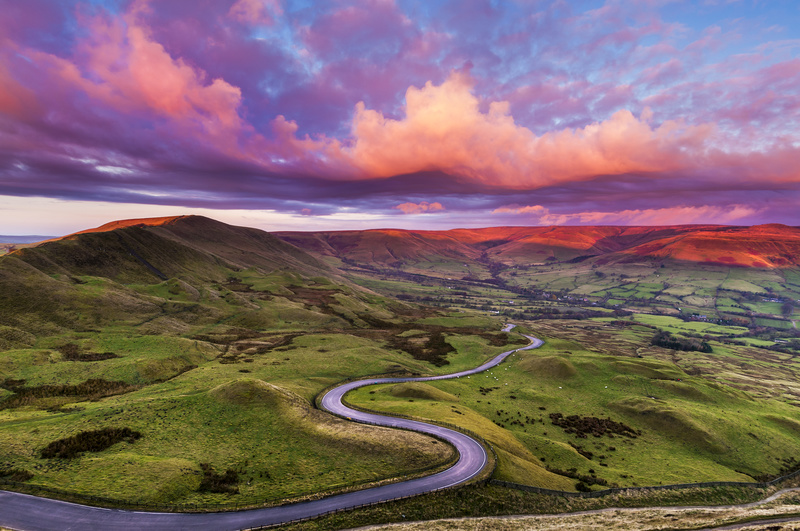 Edale road, Peak District. - Awarded and Published