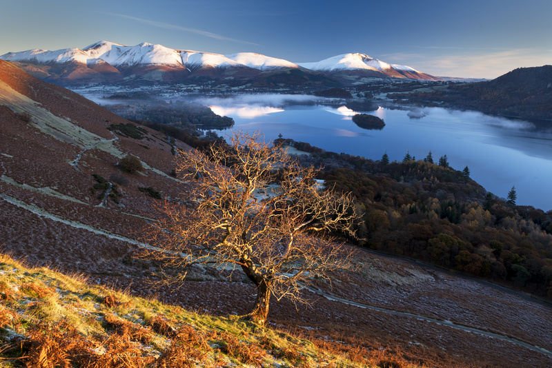 Sunrise over the Northern Fells - Lake District & Cumbria