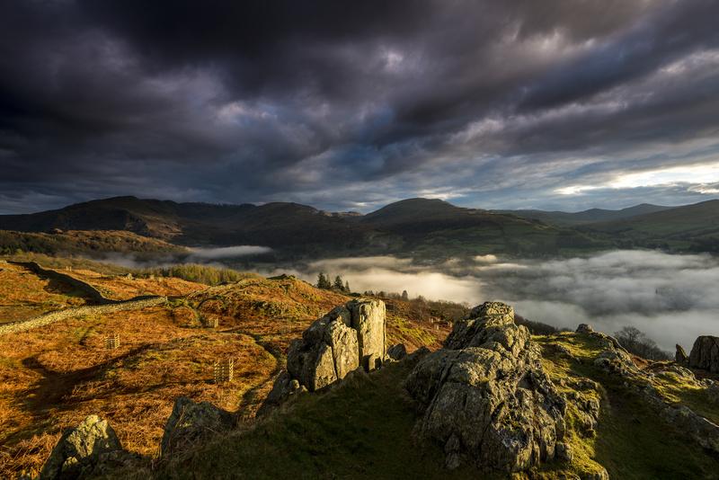 Loughrigg and Ambleside sunrise - Lake District & Cumbria